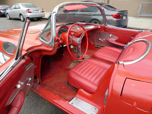 1958 Chevrolet Corvette C-1 Two Tops Needs Restoration - SOLD (picture 5 of 6)