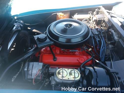 1976 Blue Corvette Black int 4spd Nice Driver For Sale (picture 2 of 6)