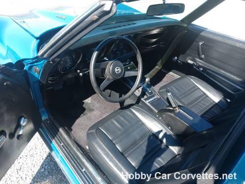 1976 Blue Corvette Black int 4spd Nice Driver For Sale (picture 4 of 6)