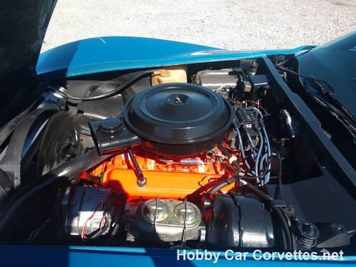 1976 Blue Corvette Black int 4spd Nice Driver For Sale (picture 6 of 6)