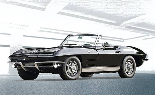 1963 Corvette C3 327-300hp 4-Speed Manual Convertible Body-O For Sale (picture 1 of 5)
