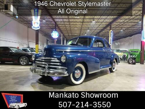 1946 Chevrolet Stylemaster Coupe  For Sale (picture 1 of 6)