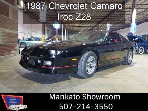 1987 Chevrolet Camaro IROZ Z/28 For Sale (picture 1 of 6)