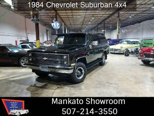 1984 Chevrolet Suburban 4x4  For Sale (picture 1 of 6)