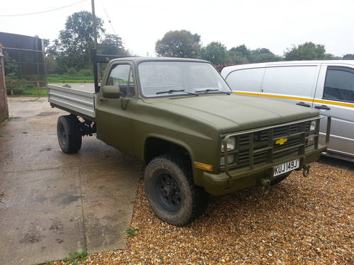 1971 Chevy k30 M1008 dropside pickup Mot and tax exempt SOLD | Car