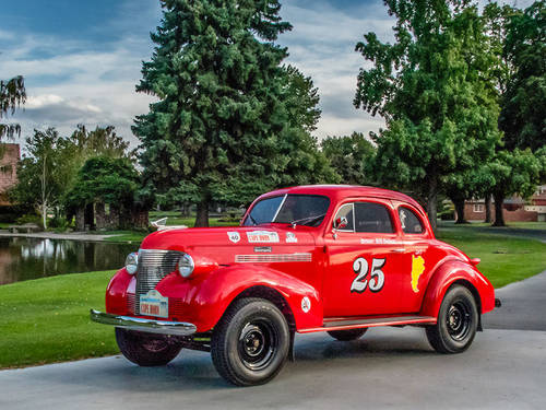 1939 Chevrolet Master Coupe Long Distance Rally Car For Sale (picture 1 of 6)