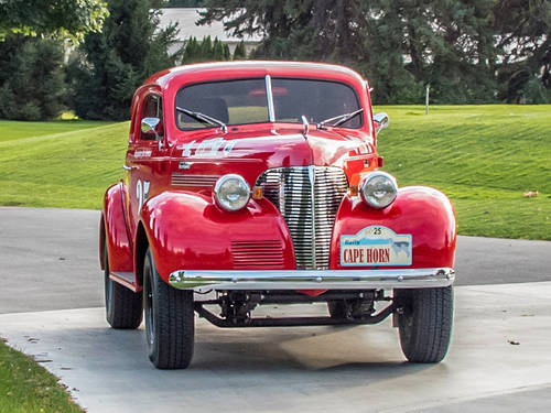 1939 Chevrolet Master Coupe Long Distance Rally Car For Sale (picture 2 of 6)