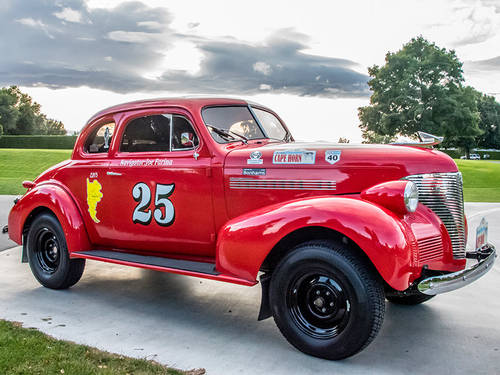 1939 Chevrolet Master Coupe Long Distance Rally Car For Sale (picture 3 of 6)