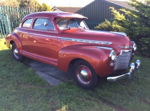 1941 chevrolet special deluxe coupe  SOLD (picture 1 of 4)