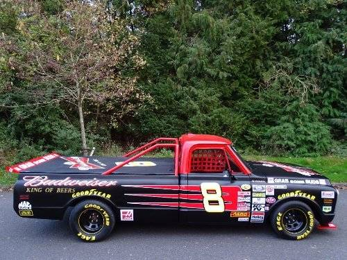 1971 Chevrolet Chevy 7.4 BUDWEISER NASCAR TRIBUTE TRUCK For Sale (picture 3 of 6)