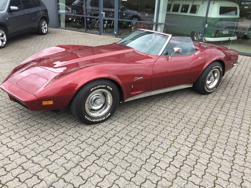 1973 Chevrolet Corvette 5,7 Cabriolet  SOLD (picture 1 of 6)