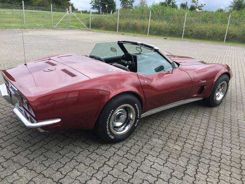 1973 Chevrolet Corvette 5,7 Cabriolet  SOLD (picture 5 of 6)
