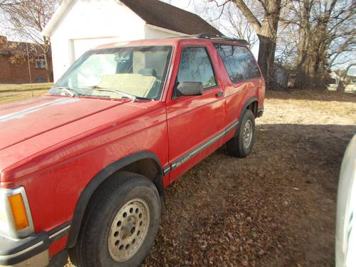 1996 Chevrolet Blazer 4WD 2DR For Sale (picture 1 of 3)