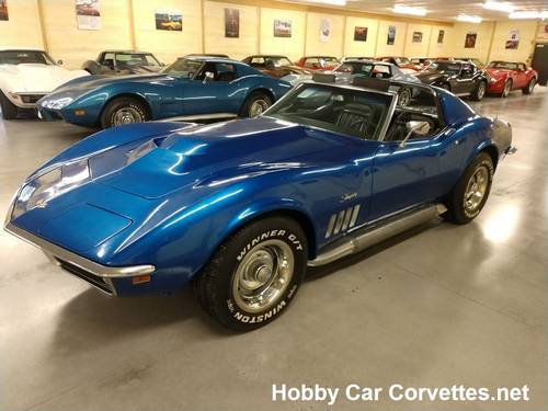 1969 Blue Corvette Stingray For Sale For Sale (picture 1 of 6)