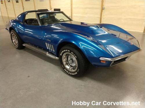 1969 Blue Corvette Stingray For Sale For Sale (picture 3 of 6)