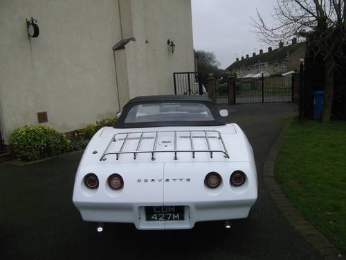 1974  Corvette Stingray C3 Convertible 350 V8 Automatic  SOLD (picture 3 of 6)