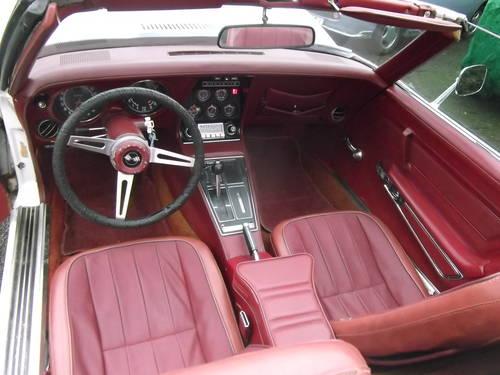1974  Corvette Stingray C3 Convertible 350 V8 Automatic  SOLD (picture 6 of 6)