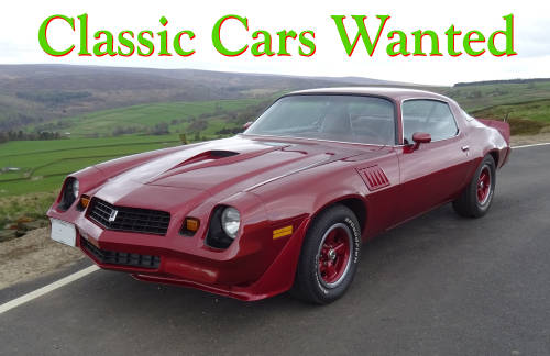 Classic Camaro Wanted Wanted (picture 1 of 6)