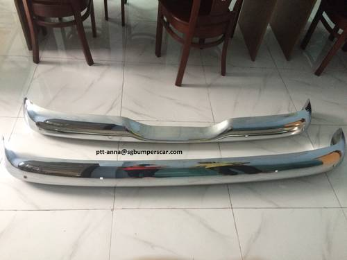 CHERVOLET PICK UP TRUCK STAINLESS STEEL BUMPERS For Sale (picture 1 of 3)