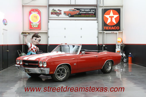 1970 SS CHEVELLE LS-5 SS 454 PS PB COWL INDUCTION AC SOLD (picture 1 of 6)