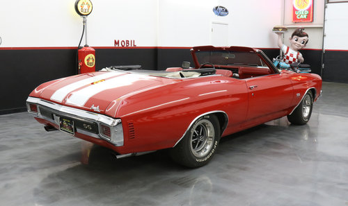 1970 SS CHEVELLE LS-5 SS 454 PS PB COWL INDUCTION AC SOLD (picture 3 of 6)