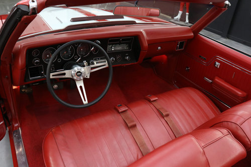 1970 SS CHEVELLE LS-5 SS 454 PS PB COWL INDUCTION AC SOLD (picture 4 of 6)