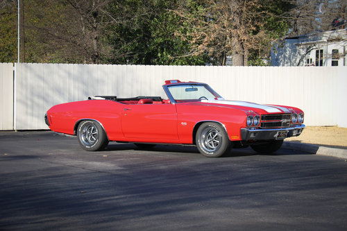1970 SS CHEVELLE LS-5 SS 454 PS PB COWL INDUCTION AC SOLD (picture 5 of 6)
