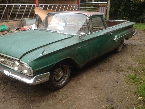 1960 chevrolet el camino For Sale (picture 1 of 6)