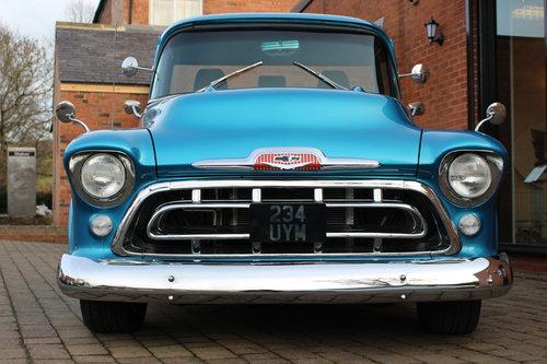1957 Chevrolet 3200 350 V8 Auto - Full Frame-Off Rebuild SOLD (picture 2 of 6)