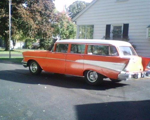 1957 Chevrolet Bel Air Station Wagon For Sale (picture 1 of 6)
