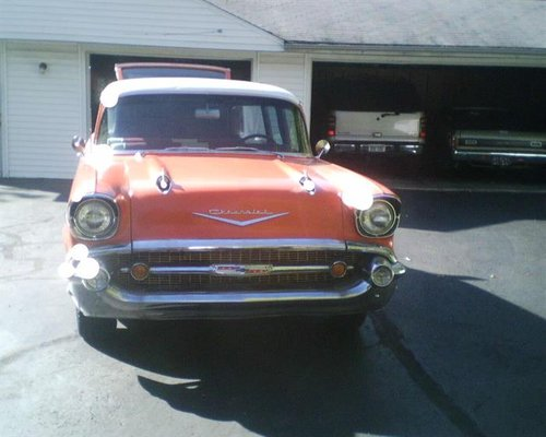 1957 Chevrolet Bel Air Station Wagon For Sale (picture 2 of 6)