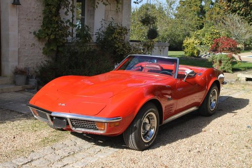1970 Corvette Stingray convertible in France For Sale (picture 1 of 6)