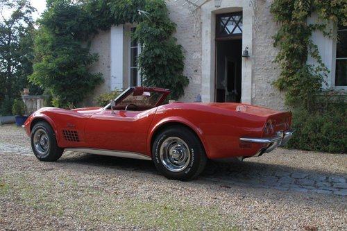 1970 Corvette Stingray convertible in France For Sale (picture 2 of 6)