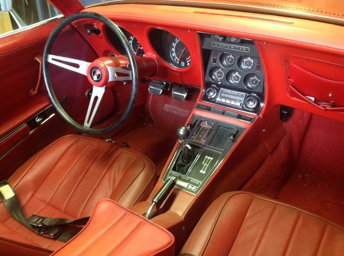1970 Corvette Stingray convertible in France For Sale (picture 4 of 6)