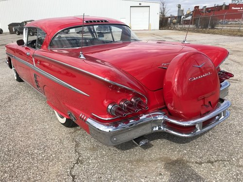 1958 Chevrolet Impala 2DR HT For Sale (picture 2 of 4)