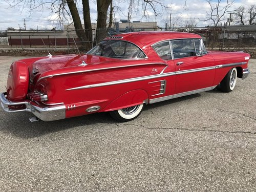 1958 Chevrolet Impala 2DR HT For Sale (picture 3 of 4)