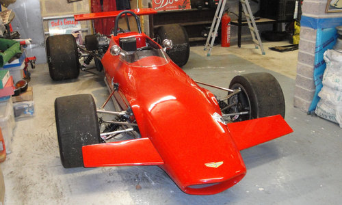 1970 Chevron Ford B17C Formula 2 Racing Single-Seater For Sale by Auction (picture 2 of 6)
