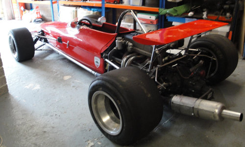 1970 Chevron Ford B17C Formula 2 Racing Single-Seater For Sale by Auction (picture 3 of 6)