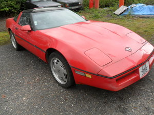 1989 chevrolete corvette