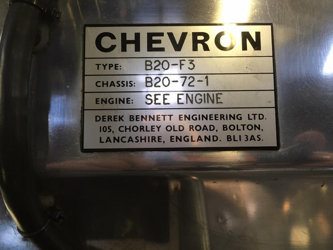1972 Chevron B20 F3 For Sale (picture 8 of 12)