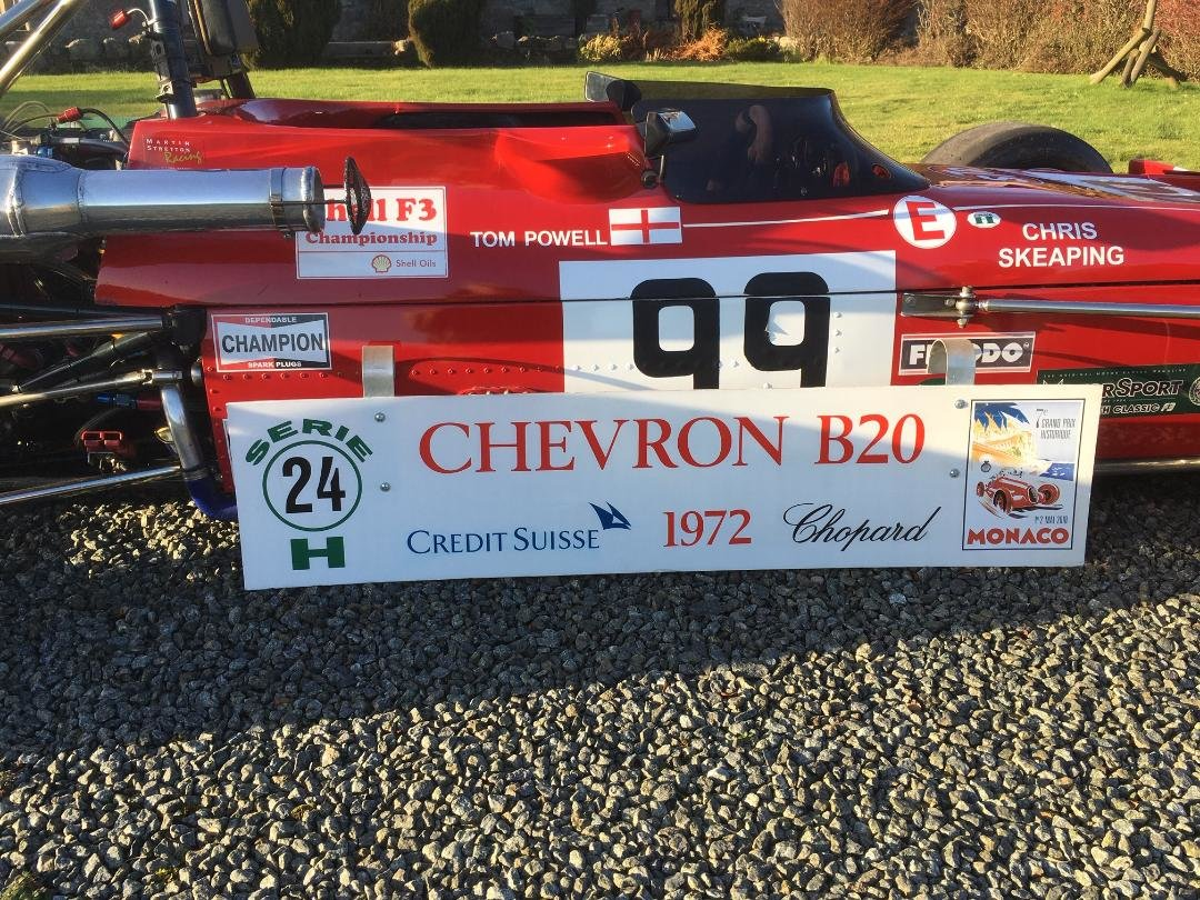 1972 Chevron B20 F3 For Sale (picture 12 of 12)