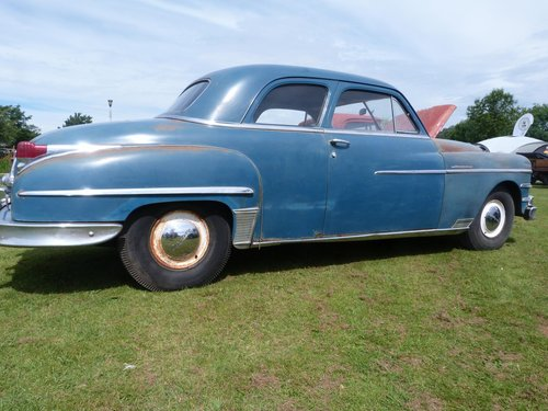 1949 Chrysler Windsor 2 Door Coupe For Sale (picture 2 of 6)