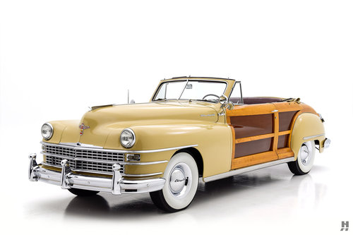 1948 Chrysler Town & Country Convertible SOLD (picture 1 of 6)