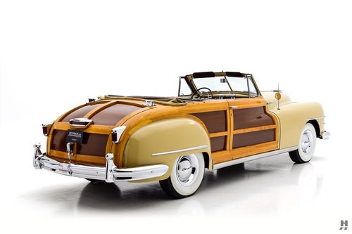 1948 Chrysler Town & Country Convertible SOLD (picture 3 of 6)
