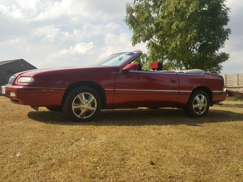 1994 Chrysler Le Baron Convertible. V. Low Miles. Power Hood. For Sale (picture 2 of 6)