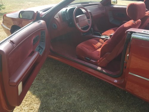1994 Chrysler Le Baron Convertible. V. Low Miles. Power Hood. For Sale (picture 4 of 6)