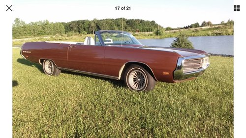 1969 Chrysler 300 convertible  Mopar For Sale (picture 6 of 6)