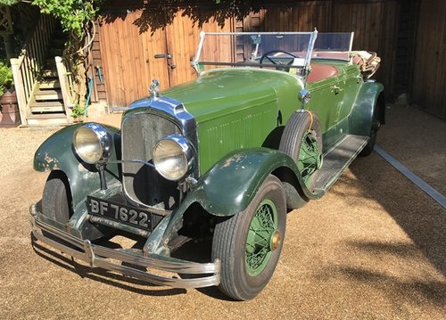 1928 A splendid, original and very rare LeBaron dual cowl phaeton For Sale (picture 1 of 6)