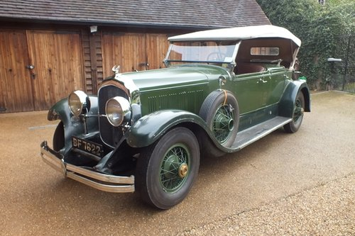 1928 A splendid, original and very rare LeBaron dual cowl phaeton For Sale (picture 2 of 6)
