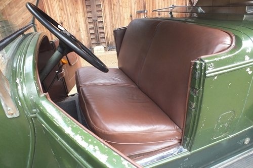 1928 A splendid, original and very rare LeBaron dual cowl phaeton For Sale (picture 5 of 6)